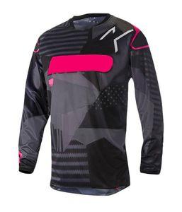 2021 Neue Geschwindigkeit Drop Off-Road Langes T-Shirt Motorradanzug Mountainbike Radfahren Jersey Top Herren Langarm Fleece T-Shirt