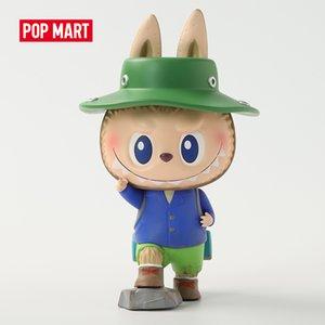 Pop Mart Labubu Canavarlar Kamp 18 cm Serisi Kör Kutusu Sevimli Kawaii Vinyle Oyuncak Aksiyon Figürleri Ücretsiz Kargo Q1215