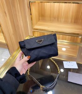 Trendy Dame Cross Body 20FW Neue Designer Buchstaben Kette Tasche Mode Hohe Qualität Umhängetasche Farbe Schwarz WF2012042