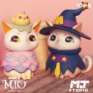 Blind box MIO dessert cat second generation fantasy cat series Internet celebrities ornaments popular toy gift authentic LJ201031
