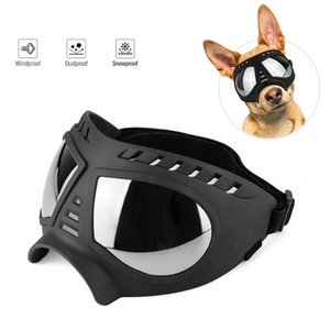 Cool Dog Sunglasses UV Protection Windproof Goggles Pet Eye Wear Medium Large Dog Swimming Skating Glasses Accessaries 201026