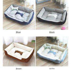 Super soft pet cat bed dog bed cat basket cushion circular cushion winter warm Plush recliner pet supplies products