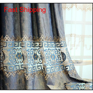 High Grade Chinese Curtains For Living Room Bedroom Dining Room Classical Flannel Hollow Embroidered Curt jllsWj Fight2010