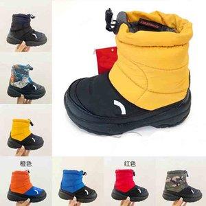 Высокое Качество Канада Детские Детские Дети Сапоги Дети Девушки Зимнее Перо Перусного Стиль Стиль Съемный Реальный Мех Снег Ботинок Теплая Обувь для Девочки