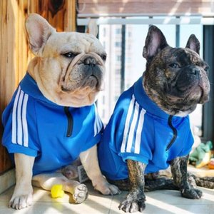 Sport Fleece For Pet Dogs Puppy New Jumpsuits French Bulldog Fat Dog hoodies Clothes Schanzer Clothing For Pugs Chihuahua