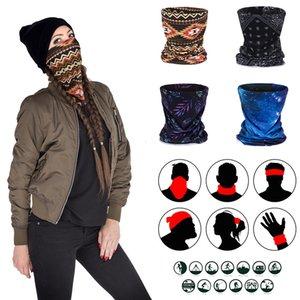 Máscara protectora Zohra multifuncional a prueba de polvo Cubierta de cuello de punto BIB