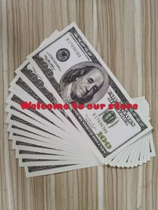 Bar Prop Paper Money Faux 20 50 New100 Old 100 USA Dollar fake Nightclub movie play money party children's toys adult's toys- 0098