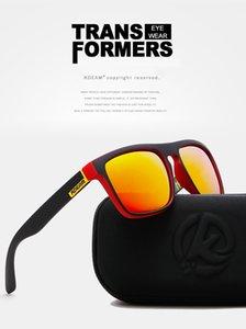Fast Shipping Polarized Sunglasses Square Sports Casual Sunglasses Unisex Outdoor Radiation-proof Sunglasses Multicolor Glasses Q4802