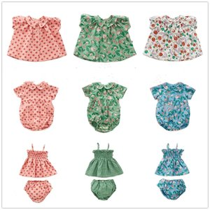 Pre-venta Zmhyaoke-OE Spring and Summer Cotton MP Series MP Girls Swinch Kidted Suéter Traje para niños pequeños Niñas Set Y200525
