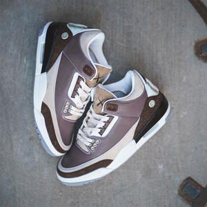 2020 Yeni KAWS X 3 3 S Tasarımcı Moda Mans Kahverengi Erkekler Boyutu 40-47 Basketbol Ayakkabı Sneakers ile Kutusu