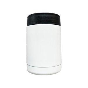 12oz sublimação em branco Refrigerador duplo parede vácuo pode refrigerador de transferência de calor refrigeradores de aço inoxidável copos de isolamento cca12635