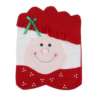 new Christmas husband wife chair set Christmas ornament fabric decoration