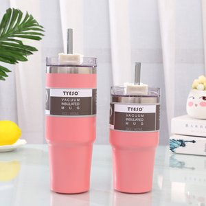 890 600ML Thermos Flask Coffee Mug Thickened Big Car Thermos Mug Travel Thermo Cup Thermosmug For Gifts LJ201221