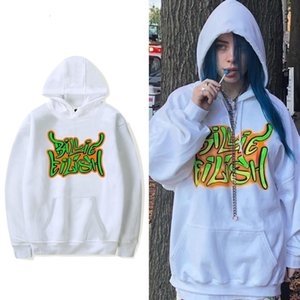 Mens Womens Billie Eilish Fashion Streetwear Hoodies Sweatshirts Casual Hooded Pullover Long Sleeve Sport Hip Hop Hoodies Tops ZFXU