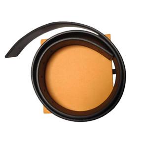 Cinto de desenhista de alta qualidade cinto de alta qualidade cinturão liso fivela cinto de luxo venda quente frete grátis laranja caixa