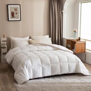 Comforters & Sets HeimenAogo All Season Queen Size Soft Quilted Down Alternative Comforter El Collection Reversible Duvet Insert Winter Warm