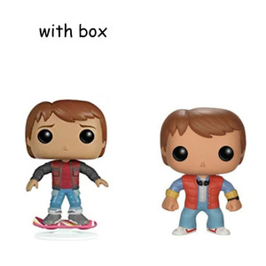 BACK TO THE FUTURE 2 MARTY McFLY with box POP Vinyl Action & Toy Figures Collectible Model Toy for Children Z1120 Z1120