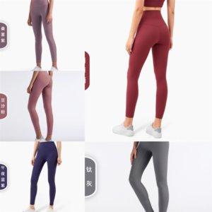 AWLF Point Yoga Pant Женская Женщина Bootcut Высокие Моды Купальники Для Новых Брюки Сплит двухэксис Йога