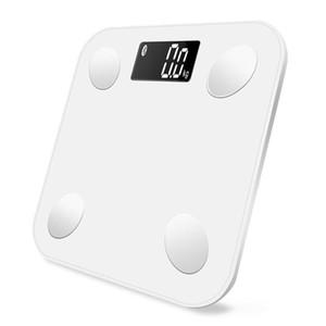 Peso corporeo Scales Bluetooth Digital smart Bilancia da bagno grasso corporeo calorie Acqua Prova del contenuto BMI
