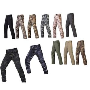Açık Spor Ormanlık Avcılık Çekim Taktik Camo Pantolon Savaş Giyim Kamuflaj Pantolon Softshell Açık Pantolon No05-204