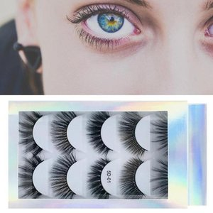 5 Pairs Laser High-grade Imitation Mink 5d Eyelashes Natural Thick False Eyelashes