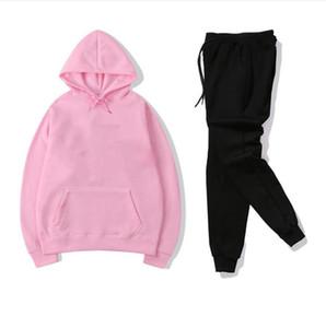 Kadın Giyim ve Erkek Tasarımcı Hoodie Tom Rahat Spor Takım Elbise veya Kadın ve Erkek Eşofman ve Set Tomruk Pantolon Boyutu: S-3XL G-18