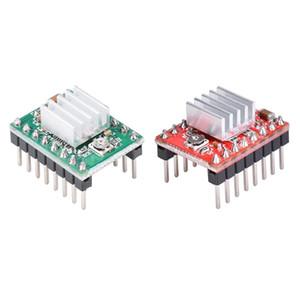컴퓨터 오피스 5PC 3D 프린터 드라이버 A4988 스테퍼 모터 드라이브 2A 스티 싱크 지원 Wax 16 Micro Stepper Reprap Ramps