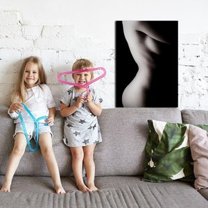 Modern Simple Art Canvas Sexy Nude Girl Art Photo Poster Poster Wall Decoration Corridor Decoration Room Decoration