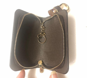 Envelopepe carte de visite homens pu couro longa carteira cadeia carteiras compacta bolsa de bolsa embreamento titulares de cartão chave