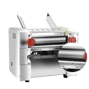 Noodle Press Machine Автоматическая коммерческая нержавеющая сталь Электрические макаронные изделия Машина Машина Тесторез Пельмени Кожа 220 В