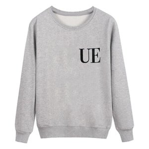 Womens Fashion Sweatshirts Casual Letters Pullovers for Girl 2020 Autumn New Hoodies Pattern Jumpers Asian Size 3 Styles