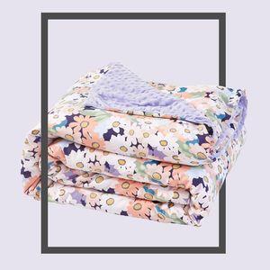 Série Floral Beans lançar cobertor Forma Velvet Blanket Quilt Capa Multifuncional Four Seasons Duvet Cover Sofa