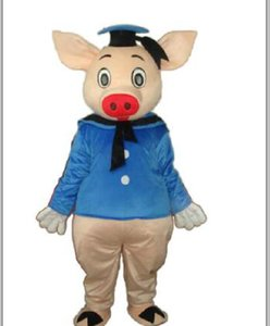 2018 Factory direct sale pig Mascot Costume Adult Halloween Birthday party cartoon Apparel