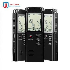 Grabadora de voz digital T60 8G 16G 32G Dictaphone Professional Voice Recorder Mini Portable Grabering Pen MP3 WAV Player