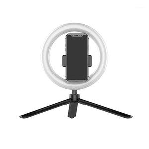 Flash Heads Ring Light 20 см / 8 дюймов светодиодные лампы Selfie лампы с штативом для видео Youtube Live Makeup Live1