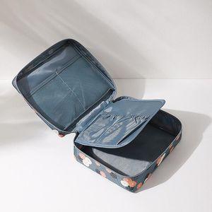 2021 New Fashionable Travel Makeup Brush Set Tools Make-up Waterproof Toiletry Kit Outdoor Sport Vacation Bag Stuff Sacks Case Oxford Packs
