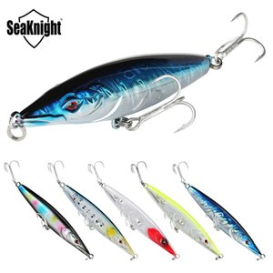 SeaKnight SK054 Floating Pencil 16g 110mm 5PCS Lot Topwater Pencil Hard Fishing Lure Set 3D Eyes Long Casting Hard Bait Fishing Q1123