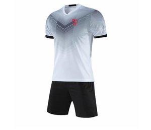 2021 Nîmes Olympique Running Sportswear Quick Dry Kids Soccer Jersey Adulto Cortío de entrenamiento corto Jersey de fútbol masculino