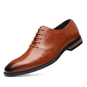 Formal Shoes Men Classic Coiffeur Italian Mens Dress Shoes Luxury Oxford Shoes for Men 2020 Plus Size Black Dress Zapatos