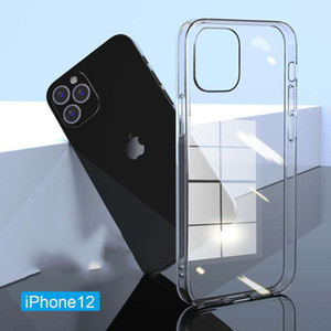 Für iPhone12 Handyhülle transparent TPU Soft Shell Apple 12Pro Anti-Drop-Shell iPhone11 Handy-Case Großhandel Handy-Fälle