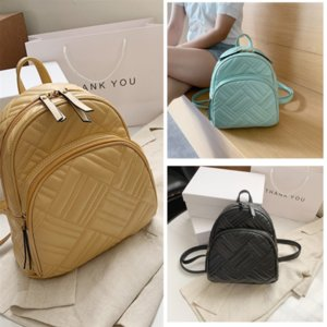 UWT Fashion Small laptop bag Mountaineering student bag backpack Plaid Casual Travel Backpack Simple student bag satchel Female Pendant Stud