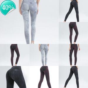 Mulheres correndo wmuncc fitness ginásio leggings esportes calças apertadas impresso calças sexy yoga empurrar alto cintura alta slim outdoor yjkd