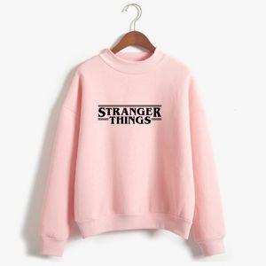 Hoodies Stranger Things Women Hoodie Fleece Harajuku Sweatshirts Autumn Winter Hip Hop Letters Print Hoodies Sweatshirt 26JY