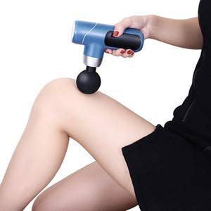 Massager Nouveau Design Handhold Fascia Pistolet Portable Fascia Sans Fascia Mini Pistolet De Massage Tissu De Profonde De Deep Profonde Vibrant Massageur J2
