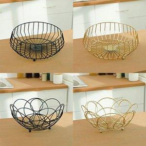 Kreative Obstkorb Arbeitsplatte Aufbewahrungsschüssel für Snacks Obst Gemüse Küche Display Dekoratives Gericht 201214