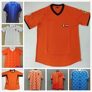 Retro Netherlands BERGKAMP Soccer Jersey 88 95 1996 97 98 2000 02 2012 14 Holland GULLIT return football shirt VAN BASTEN ancient maillot