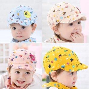 2020 Summer Baby Hat Cap Newborn Photography Props Beanies Kid Boy Girl Kid Toddler Infant Hat Little Car Baseball Beret Cap