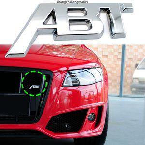 Auto Grill ABT logo targhetta per Audi S1 QS7 TT RS3 SQ2 RS6 RS7 SQ7 A3 RS4 RS5 SQ8 A8L S4 A6 S6 A4 Q5 A1 S5 S4 A5 Accessori 3D 3D