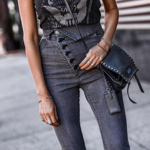 High Waisted Skinny Pencil Jeans Designer Street Style Women Jeans New Style Women Designer Jeans Fashion
