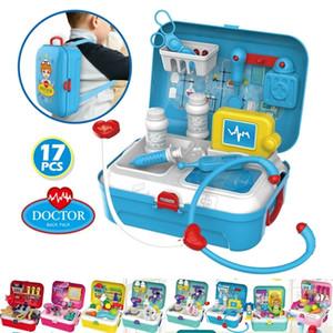 Doctor Mini Tools Set Kids Little Nurse Role Play Parent-kid Games Toys Kids Doctor Toys Set Kids Nurse Toys Set LJ201211